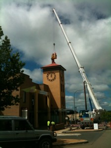 Leura's new mobile tower approaches commisssioning
